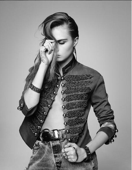 Photos : Cara Delevingne, ça rock pour L'Express Styles !