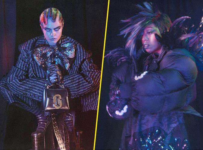 Cara Delevingne et Missy Elliott pour la nouvelle campagne Marc Jacobs