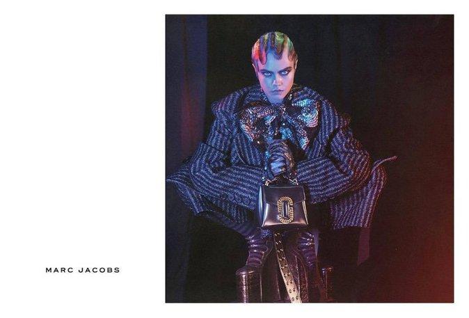 Cara Delevingne pour la nouvelle campagne Marc Jacobs