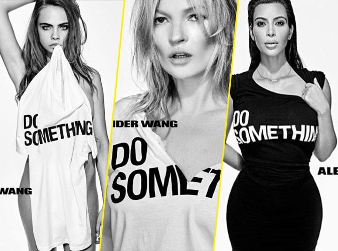 Photos : Cara, Kate, Kim... Ils posent tous en Alexander Wang pour la bonne cause !