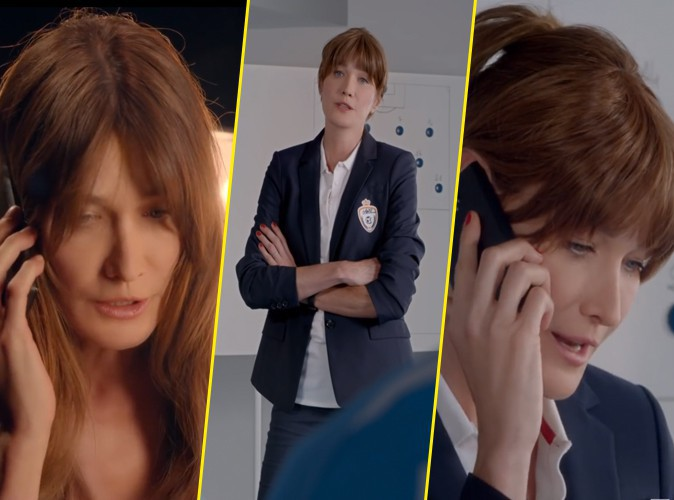 Photos : Carla Bruni : égérie transformée pour Ford !