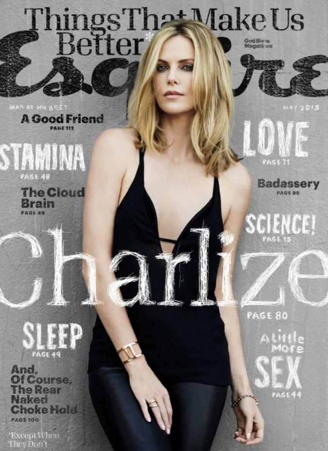 Photos : Charlize Theron, belle comme le jour, elle déclare son amour dans Esquire !