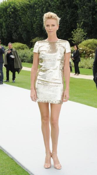 Charlize Theron au défilé Dior