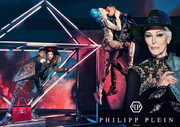 Chris Brown pour la nouvelle campagne Philipp Plein