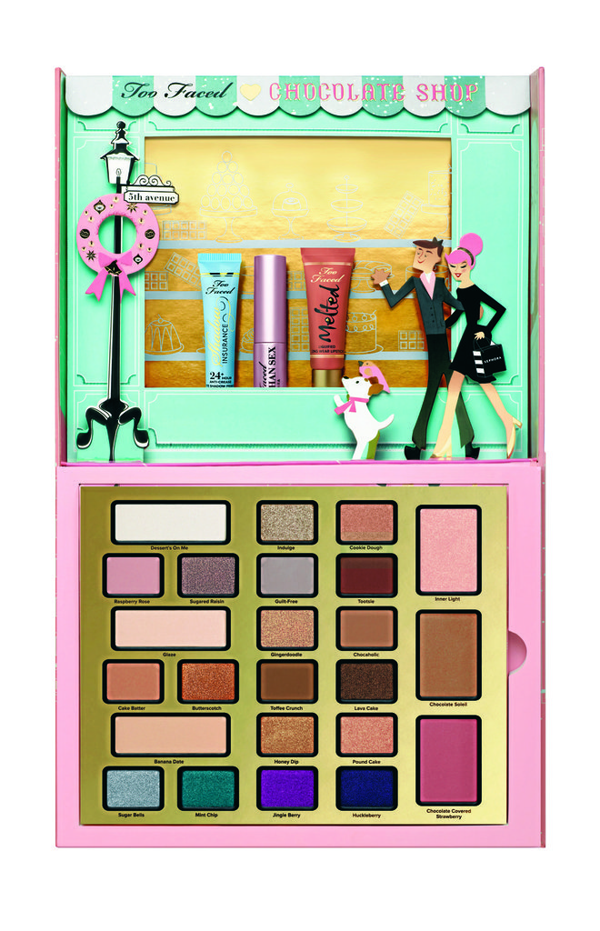 Coffret The Chocolate Shop, Too Faced chez Sephora. 54,95 €