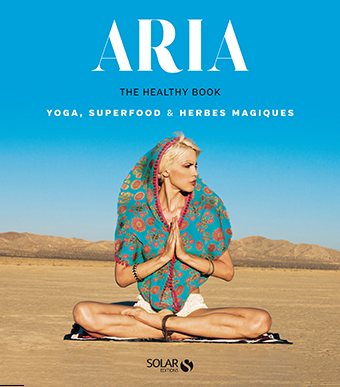 Livre, The Healthy Book, d'Aria Crescendo, éd. Solar. 19,90 €.