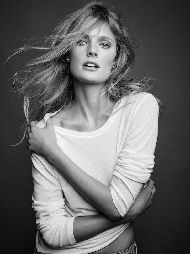 Photos : Constance Jablonski : simple et décontractée, elle assure pour Majestic Filatures !