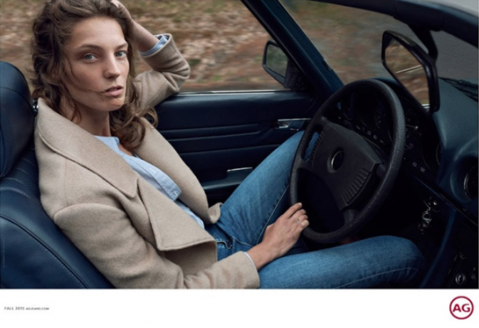 Daria Werbowy pour AG Jeans