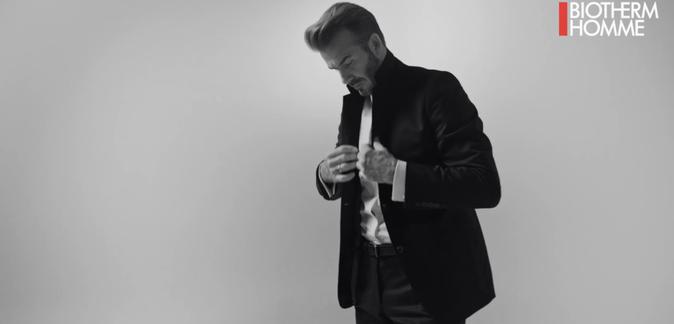 David Beckham pour Biotherm Homme