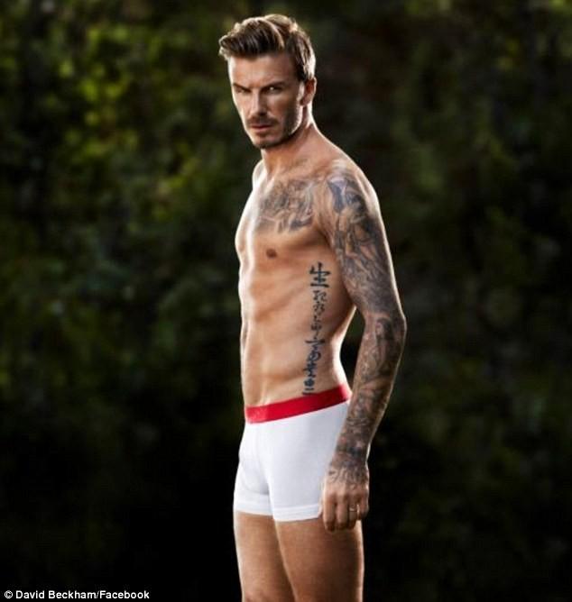David Beckham pour H&M.