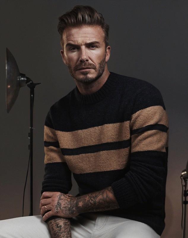 Photos : David Beckham : séduisant et sexy au côté de Kevin Hart pour H&M !
