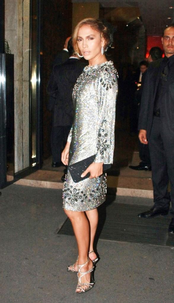 Jennifer Lopez rayonne !