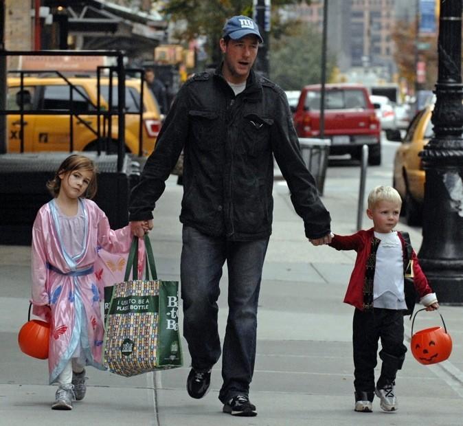 Edward Burns et ses enfants