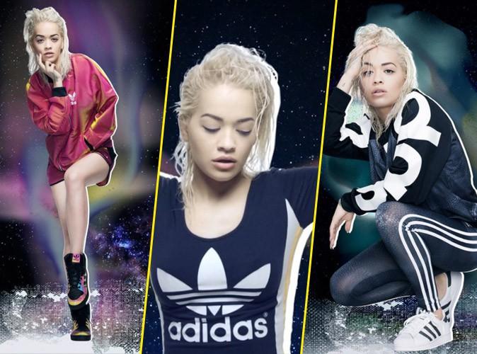 """Photos : découvrez une Rita Ora elliptique pour sa toute dernière campagne """"Space Shifter"""" pour Adidas !"""