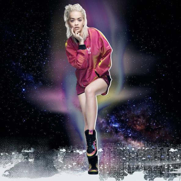 Rita Ora pour Adidas