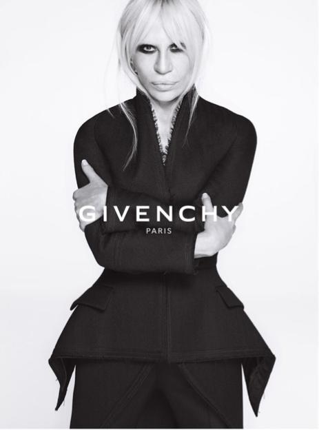 La nouvelle collection Automne - Hiver 2015 de Givenchy, avec Donatella Versace