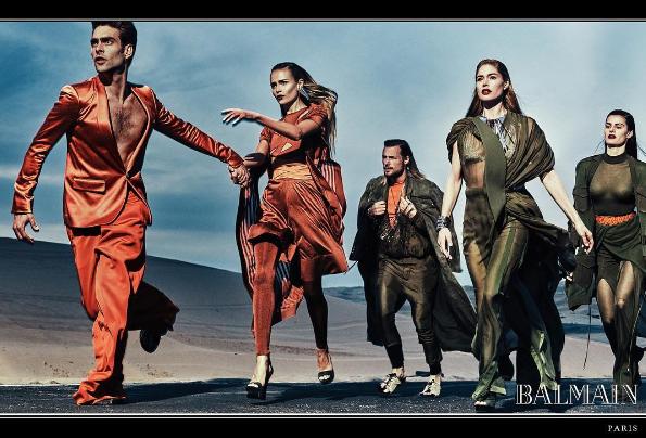 Photos : Doutzen Kroes, Natasha Poly, Isabeli Fontana... Sexy et puissantes pour la nouvelle campagne Balmain