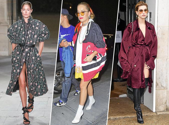 Doutzen Kroes, Rita Ora, Hailey Baldwin... Parka ou peignoir ?