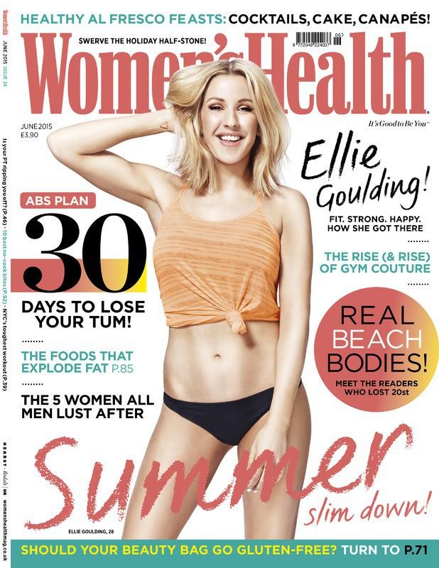 Photos : Ellie Goulding, épanouie en sportive sexy pour Women's Health Magazine !