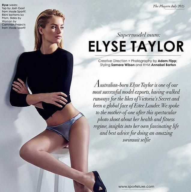 Elyse Taylor pour Sportelife Magazine !
