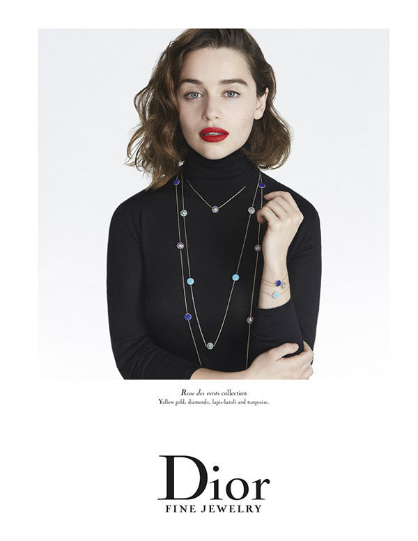 Photos : Emilia Clarke : Une beauté naturelle saisissante pour Dior Magazine