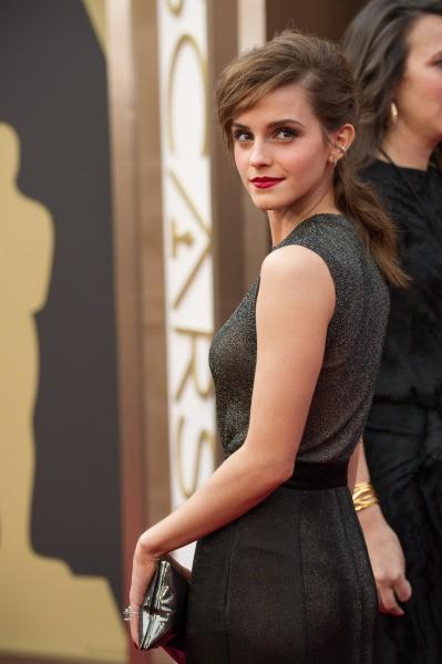 Emma Watson à la dernière cérémonie des Oscars