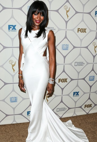 Naomi Campbell aux Emmy Awards 2015