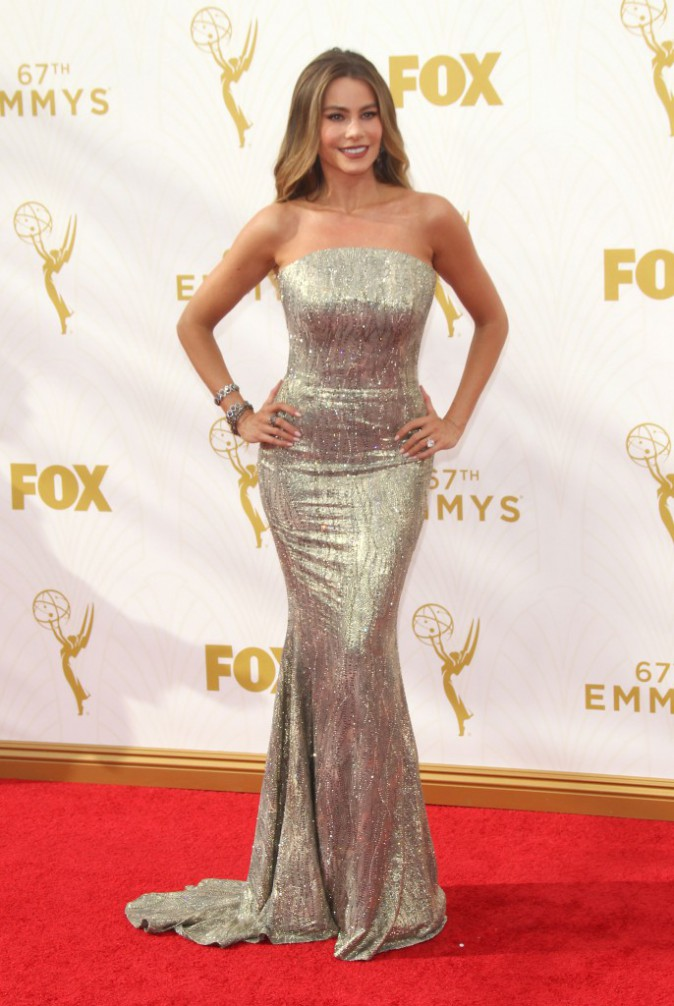 Sofia Vergara aux Emmy Awards 2015