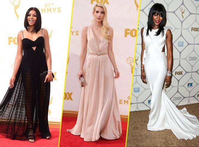 Taraji P. Henson, Emma Roberts et Naomi Campbell aux Emmy Awards 2015