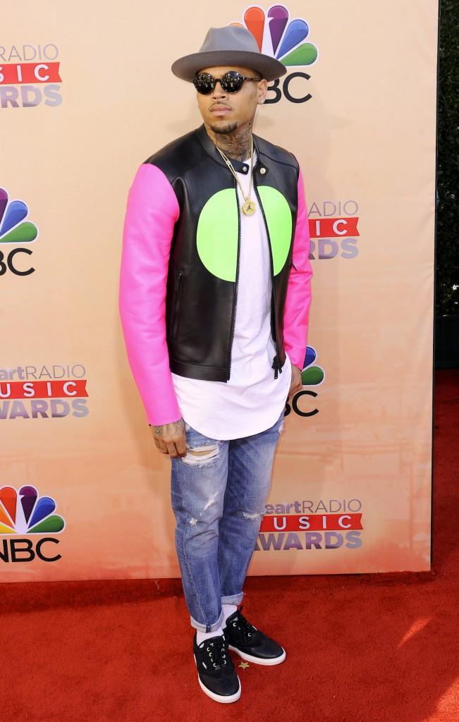 En direct de Fashionland : Chris Brown : le faux pas de la semaine !