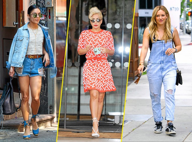 En direct de Fashionland : Vanessa Hudgens, Lady Gaga, Hilary Duff
