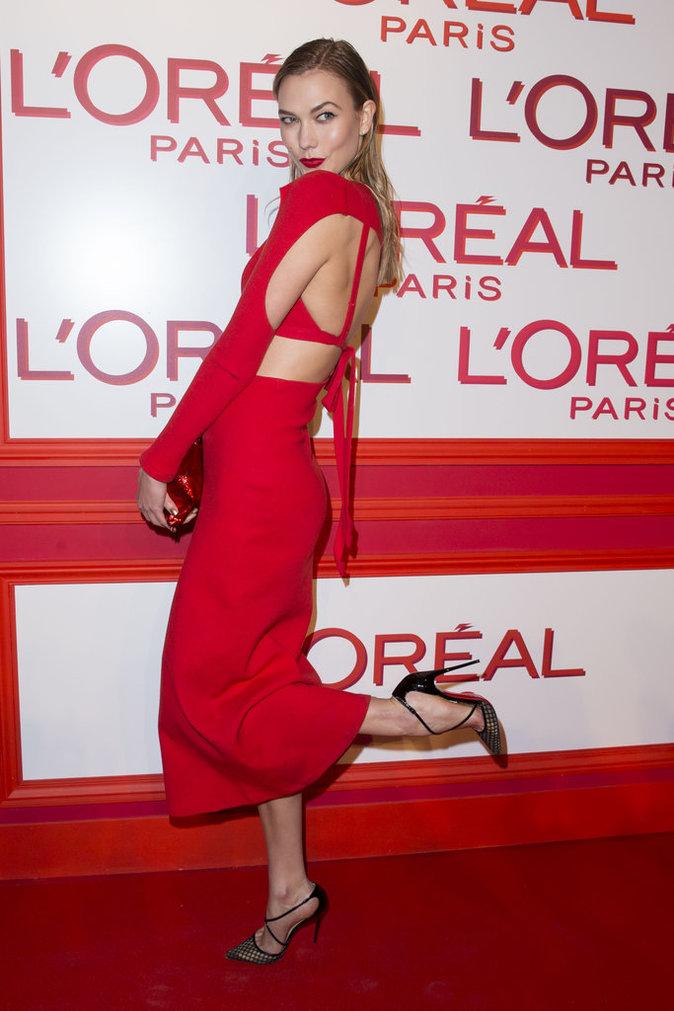 Photos : Eva Longoria, Karlie Kloss, Irina Shayk... Égéries flamboyantes à la soirée L'Oréal Paris Red Obsession