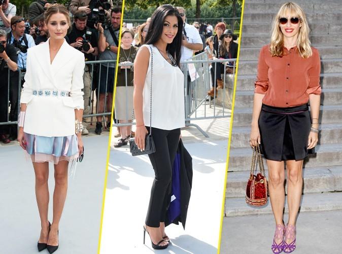 Découvrez les looks de la Fashion Week parisienne de juillet 2013 !