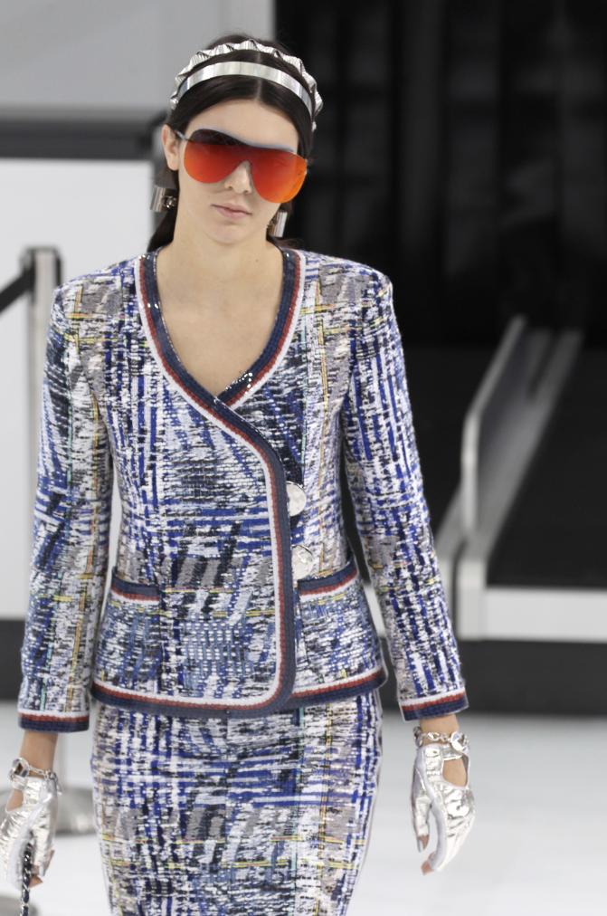 Défilé Chanel le 6 octobre 2015