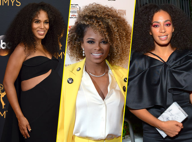 Photos : Fleur East, Kerry Washington, Solange Knowles : Passez au Nappy Hair !