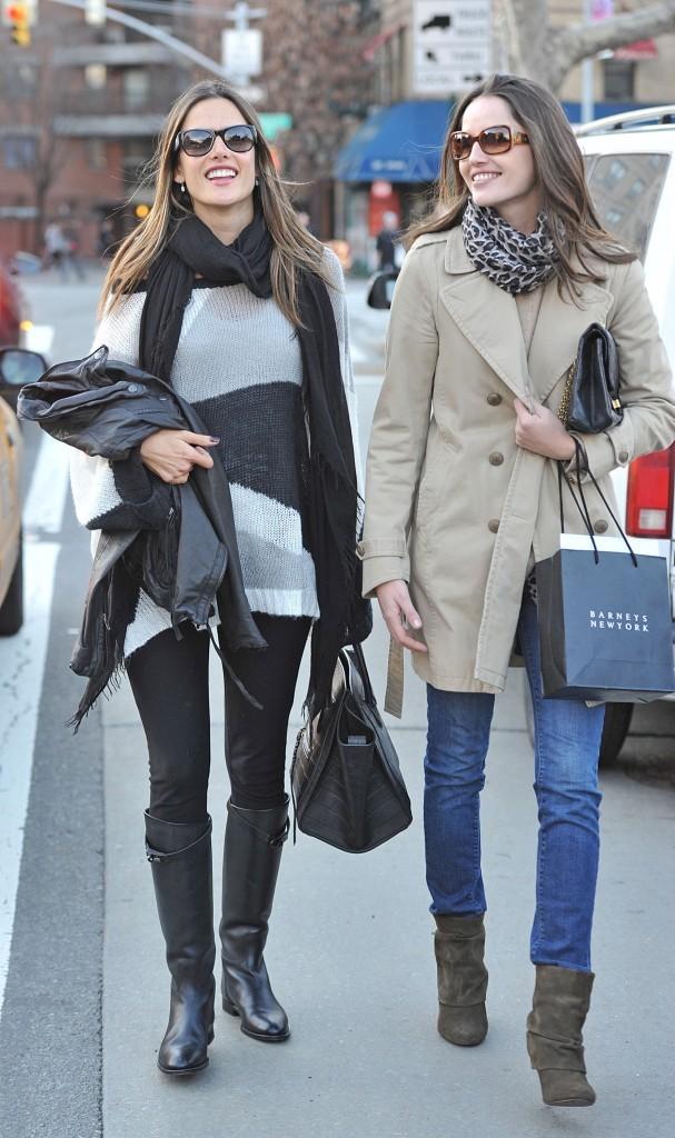 Alessandra Ambrosio et sa soeur Aline : tout leur réussit !