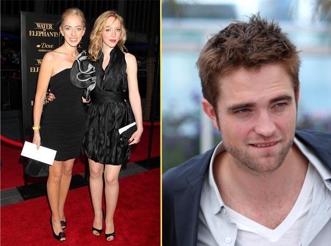Robert Pattinson et ses soeurs Lizzie et Victoria : la solidarité avant tout.