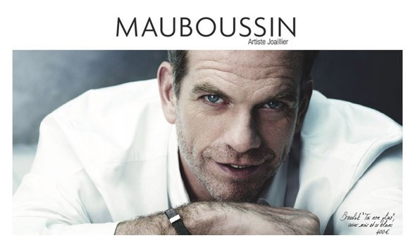 Garou,ambassadeur de charme pour Mauboussin