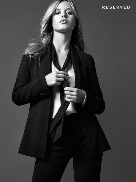 Photos : Georgia May Jagger : star de la dernière campagne Reserved !