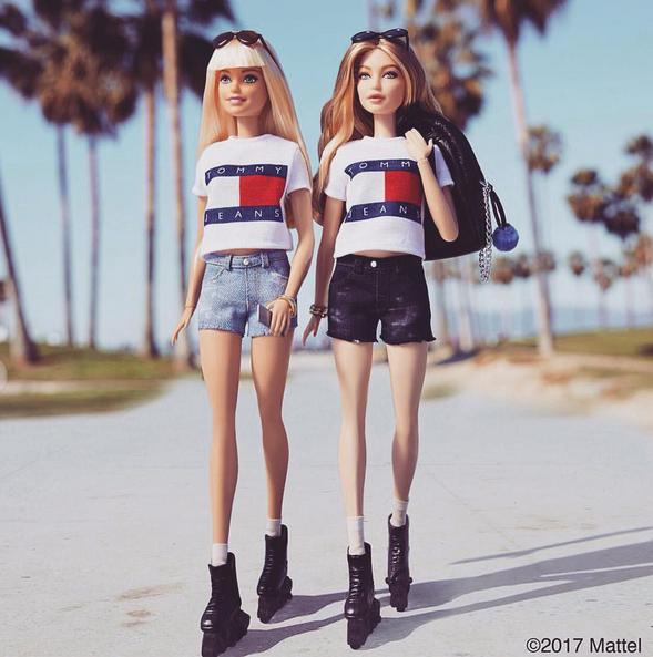 Gigi Hadid a désormais sa propre Barbie... et elle ne s'habille qu'en Tommy Hilfiger !