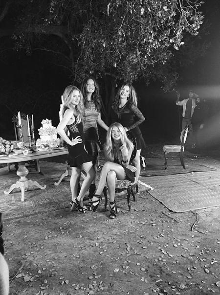Photos : Gigi Hadid, Barbara Palvin, Lottie Moss, Emily DiDonato : un casting de rêve pour Rosa Cha !