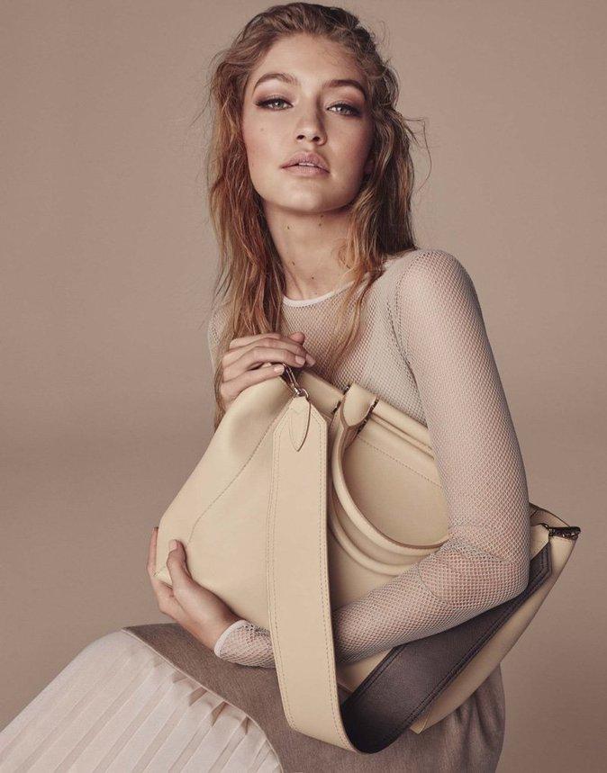 Gigi Hadid pour la nouvelle campagne automne-hiver 2016 Max Mara