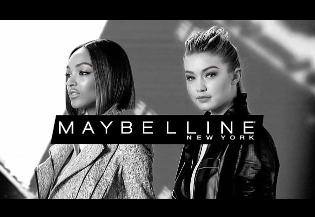 Gigi Hadid et Jourdan Dunn pour Maybelline
