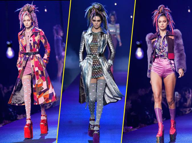 Gigi Hadid, Kendall Jenner, Irina Shayk au défilé Marc Jacobs, le 15 septembre