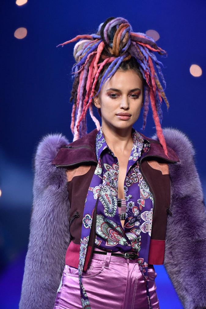 Irina Shayk au défilé Marc Jacobs, le 15 septembre