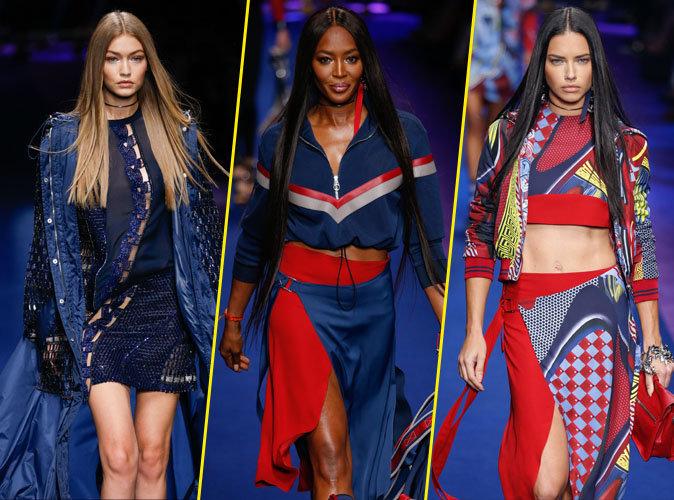 Photos : Gigi Hadid, Naomi Campbell, Adriana Lima : défilé de VIP pour Versace !