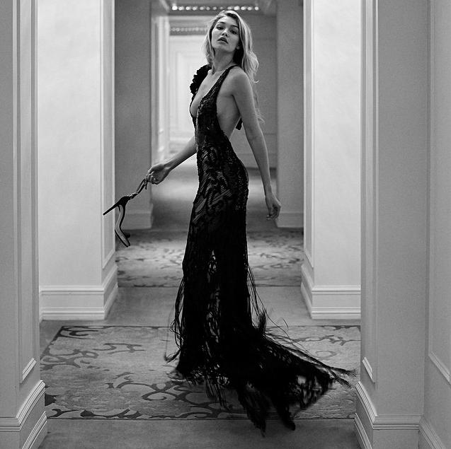 Gigi Hadid pour Vanity Fair