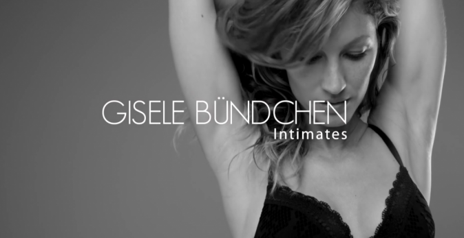 Gisele Bündchen pour Gisele Bündchen X Intimates