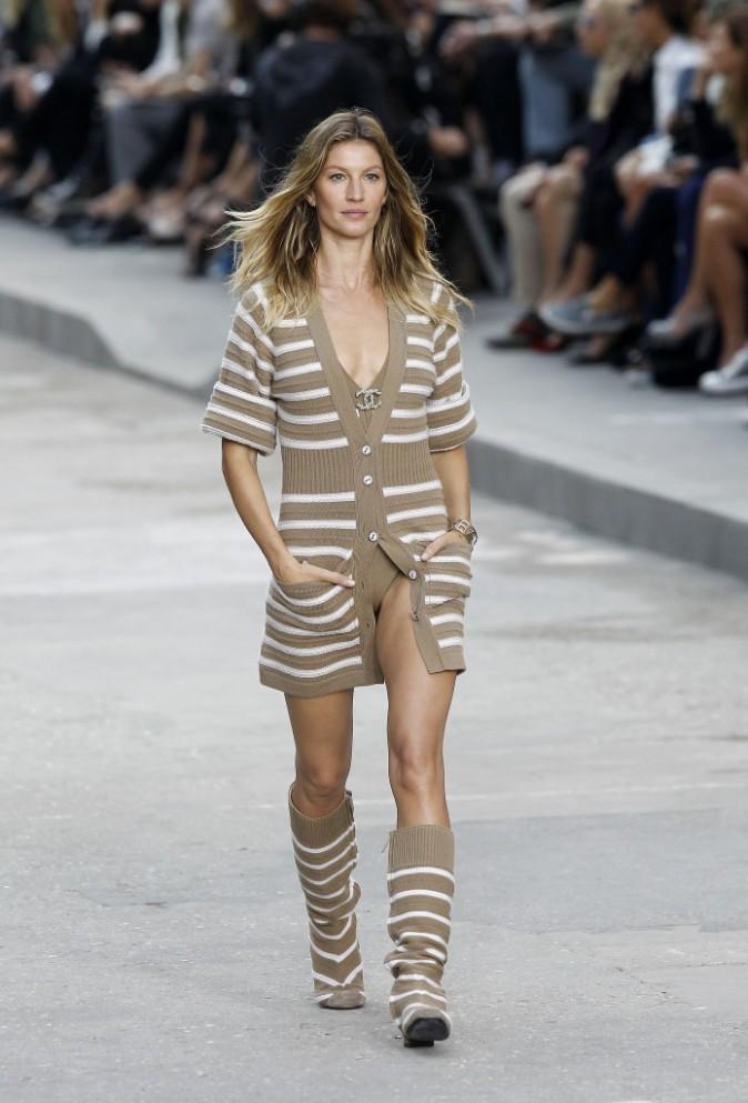 Chanel fashion Show pendant la Paris Fashion week (30.09.14)
