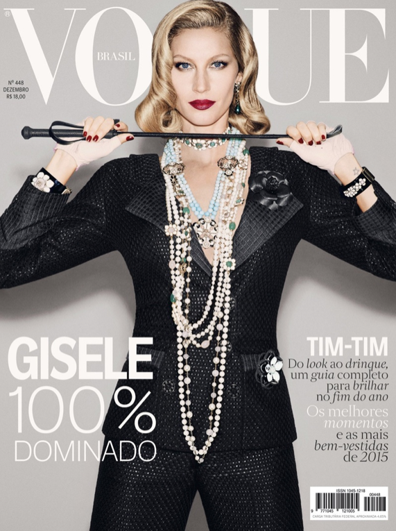 Photos : Gisele Bundchen : rétro et dominatrice pour Vogue Brésil